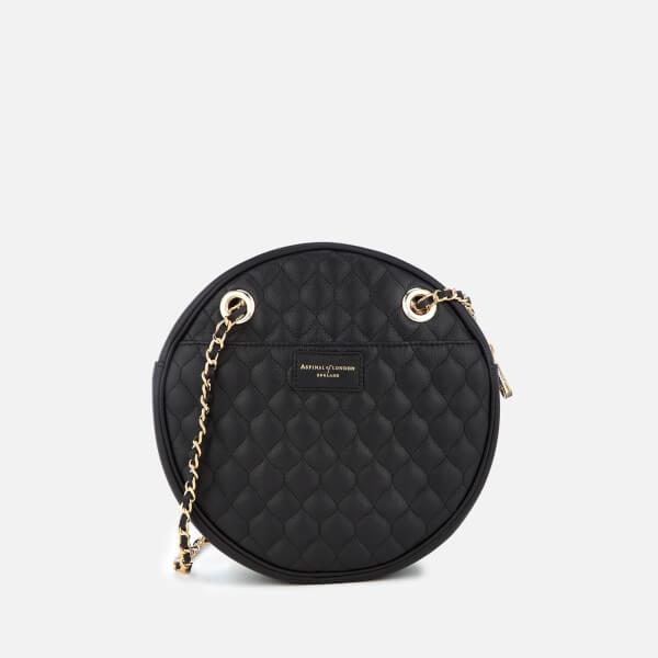 Aspinal of London Women's Circle Bag - Black