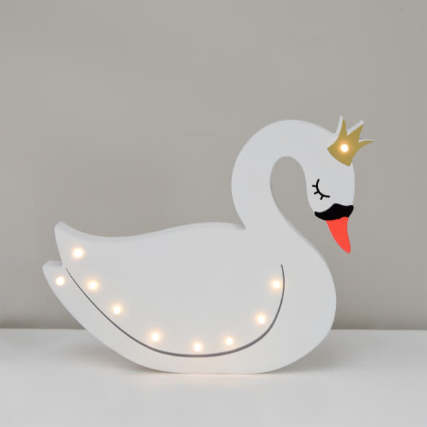 Smiling Faces Up in Lights - Swan