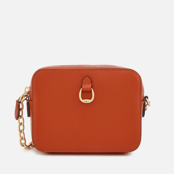 ba43486c4627 Lauren Ralph Lauren Women s Bennington Small Camera Cross Body Bag - Burnt  Orange  Image 1