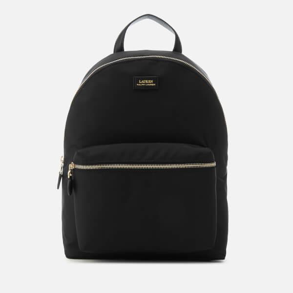 b3099f3a09 Lauren Ralph Lauren Women s Chadwick Medium Backpack - Black  Image 1