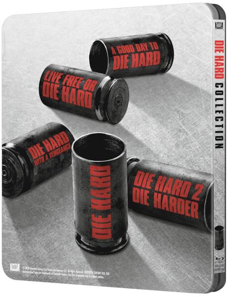 Die Hard 1 5 Zavvi Exclusive Limited Edition Steelbook
