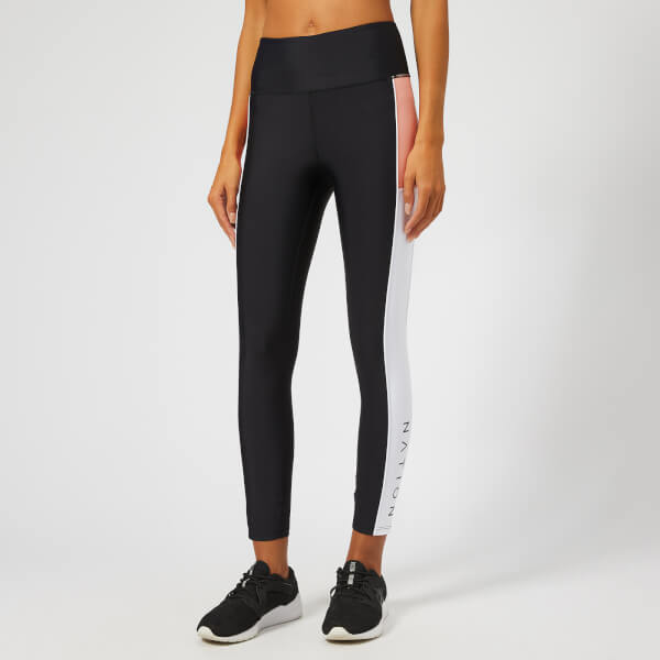 P.E Nation Women's Without Limits Leggings - Black/White