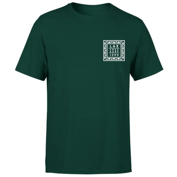 Native Shore Men's Lax Free Surf T-Shirt - Forest Green