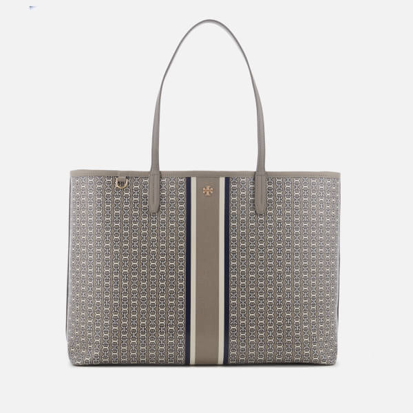 6ad275cad894 Tory Burch Women s Gemini Link Tote Bag - French Grey  Image 1