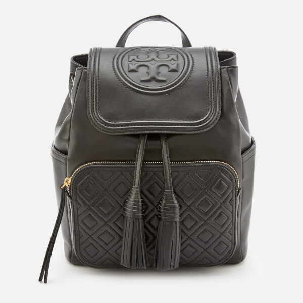 051c16d889f Tory Burch Women s Fleming Backpack - Black  Image 1