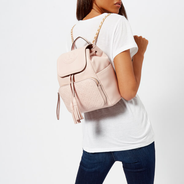 Tory Burch Women's Fleming Backpack - Shell Pink: Image 21