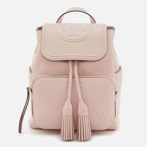 520760467ac Tory Burch Women s Fleming Backpack - Shell Pink  Image 1
