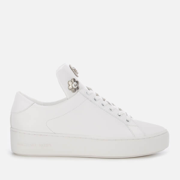 MICHAEL MICHAEL KORS Women's Mindy Lace Up Trainers - Optic White