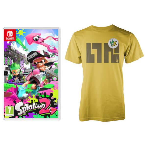 Splatoon 2 + Splatoon SquidForce T-Shirt