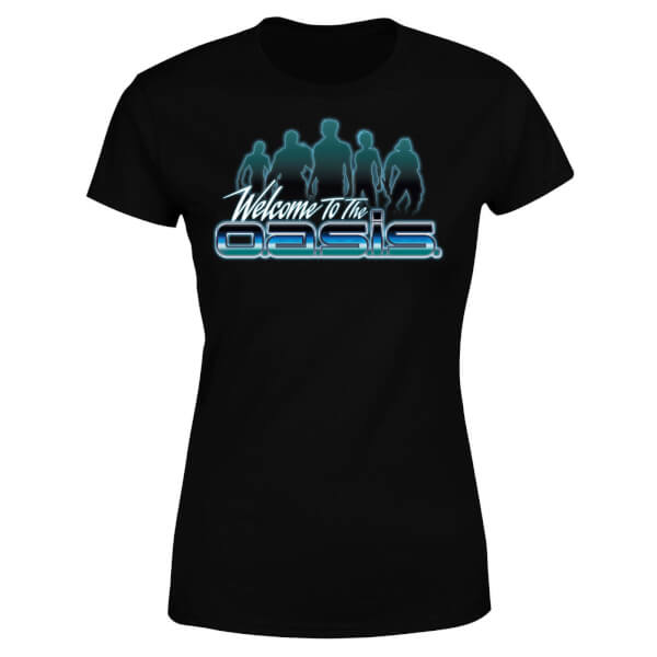 Ready Player One Welcome To The Oasis Women's T-Shirt - Black