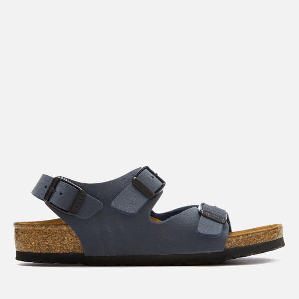 Birkenstock Kids  Roma Slim Fit Double Strap Sandals - Navy  Image 1 4adaa4c986f