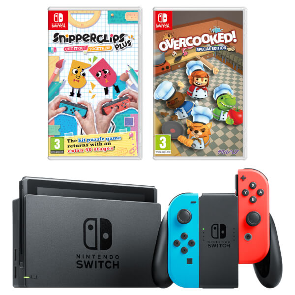 nintendo switch family fun pack nintendo official uk store. Black Bedroom Furniture Sets. Home Design Ideas