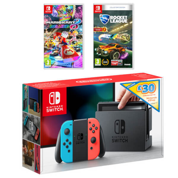 Nintendo Switch Driving Ultimate Bundle + £30 eShop Credit