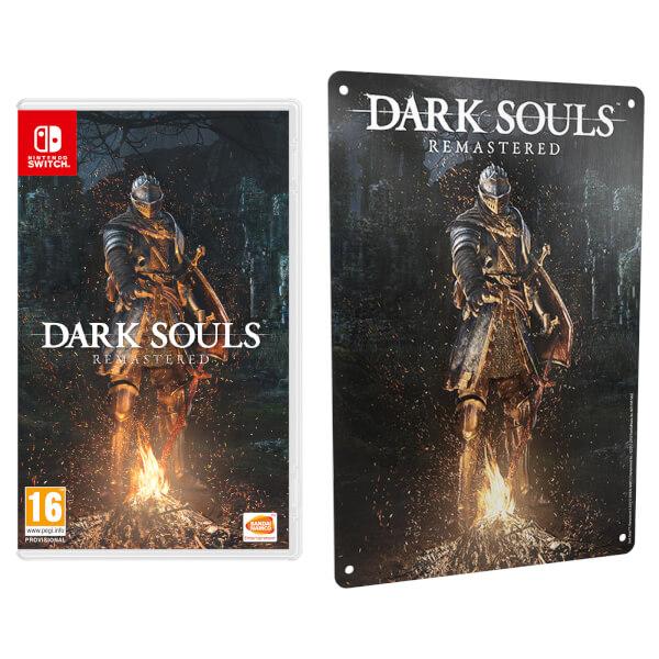 Dark Souls: Remastered + Metal Plate
