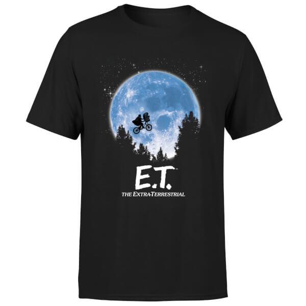 ET Moon Silhouette T-Shirt - Black