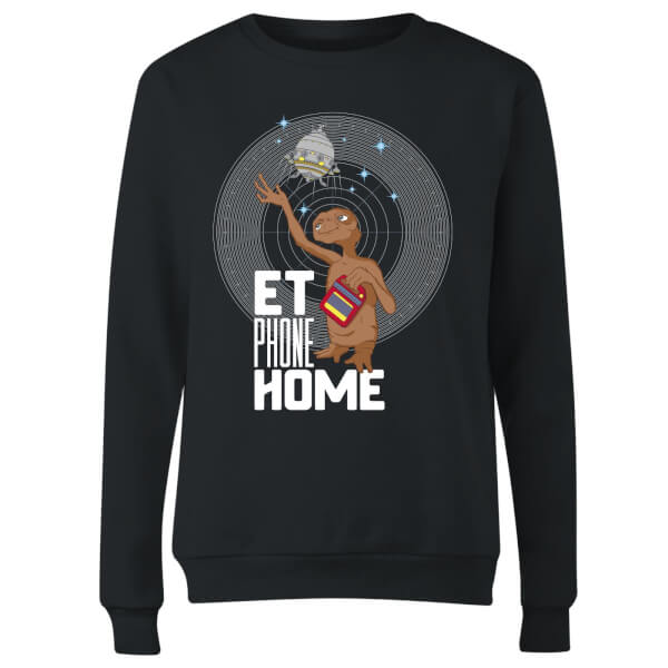 E.T. Phone Home Women's Sweatshirt - Black