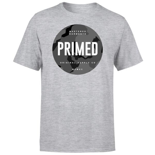 Primed Stamp T-Shirt - Grey