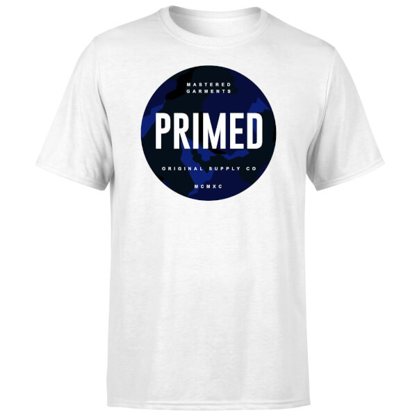 Primed Stamp T-Shirt - White