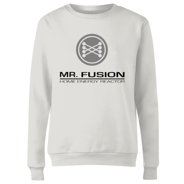 Back To The Future Mr Fusion Women's Sweatshirt - White