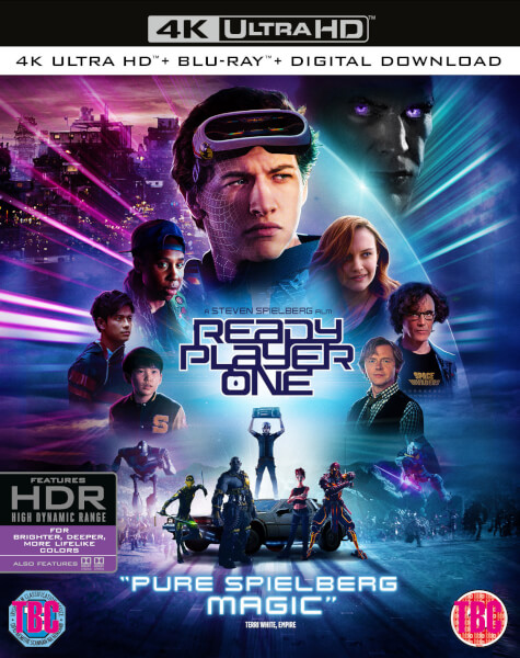 Ready Player One 4k Ultra Hd Blu Ray Zavvi Australia