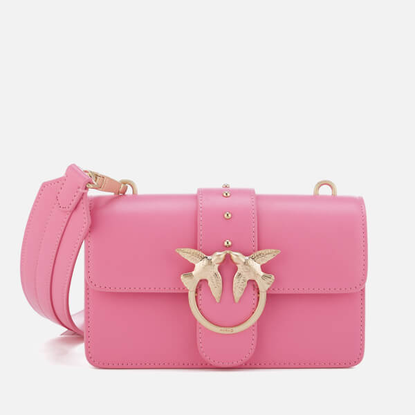 Pinko Women's Mini Love Shoulder Bag - Pink