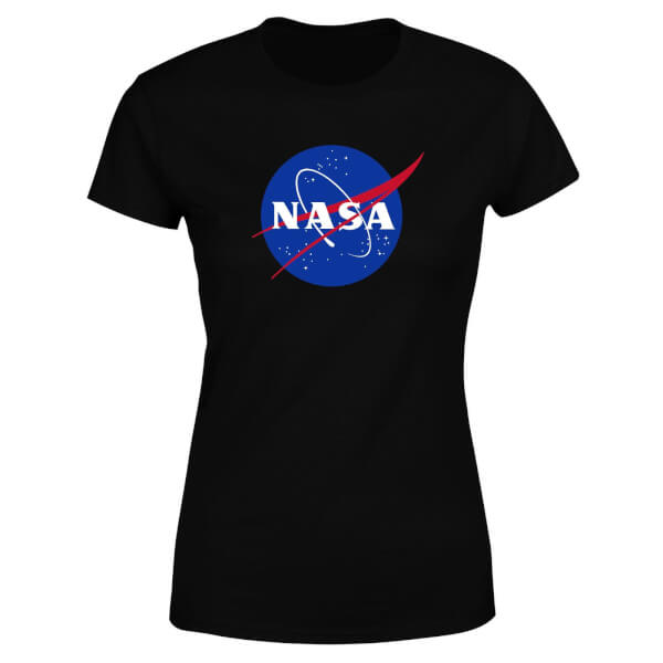 NASA Logo Insignia Women's T-Shirt - Black