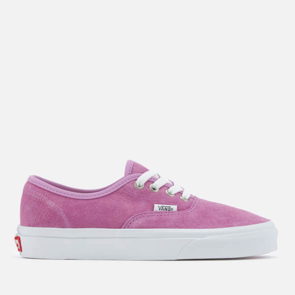 Vans Women's Authentic Suede Trainers - Purple/True White