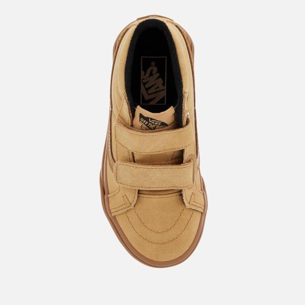 3ce793aa9c51 Vans Kids  Sk8-Mid Reissue Velcro Met Water Resistant Trainers - Vansbuck  Apple
