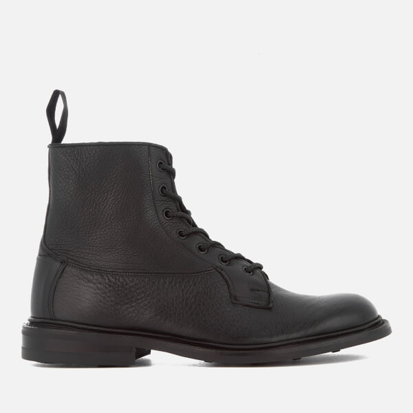 Tricker's Men's Burford Leather Lace Up Boots - Black