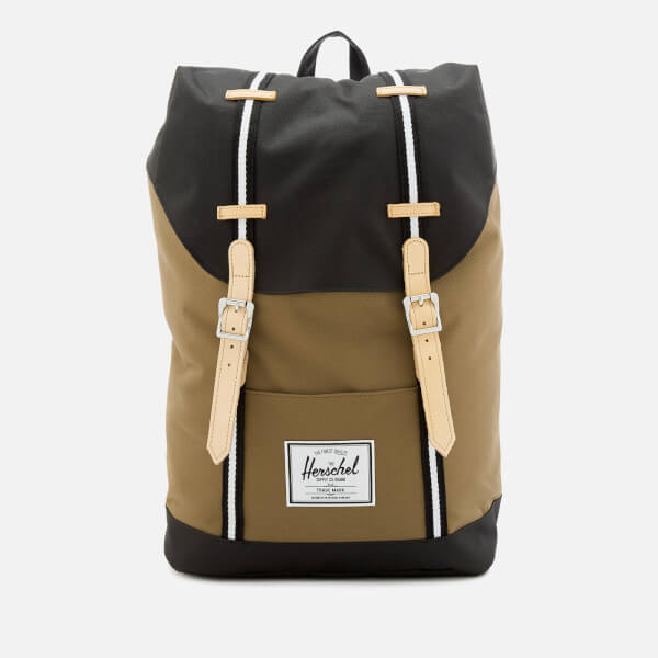 Herschel Supply Co. Men s Retreat Backpack - Cub Black White  Image 1 e3e5a0084d