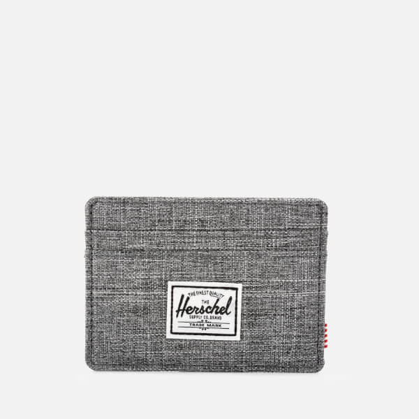 Herschel Supply Co. Men's Charlie Card Holder - Raven Crosshatch
