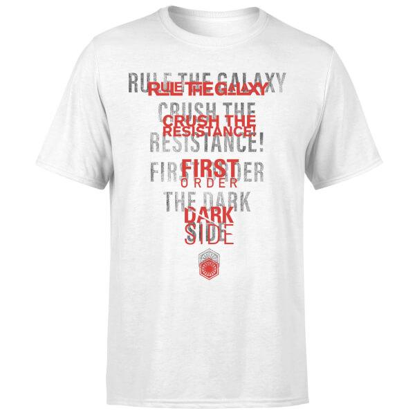 Star Wars Dark Side Echo White T-Shirt - White