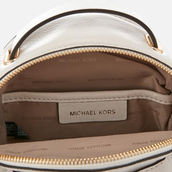 c101d4f8508f MICHAEL MICHAEL KORS Women's Jessa Extra Small Convertible Backpack - Optic  White: Image 5