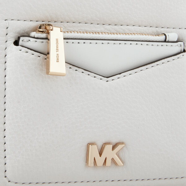aebc18e2d3e7 MICHAEL MICHAEL KORS Women's Jessa Extra Small Convertible Backpack - Optic  White: Image 4