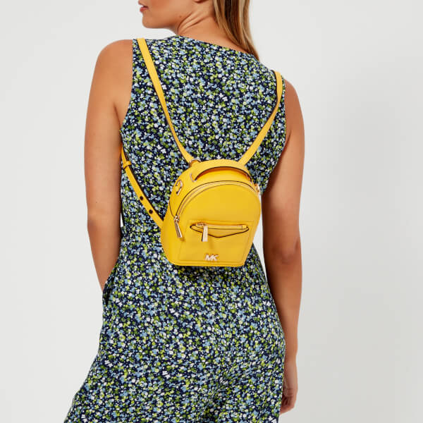 34a49b37f8d9 MICHAEL MICHAEL KORS Women s Jessa Extra Small Convertible Backpack -  Sunflower  Image 3