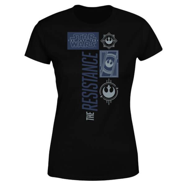 069d06958f92 Product Images Carousel. Star Wars The Resistance Black Women s T-Shirt ...