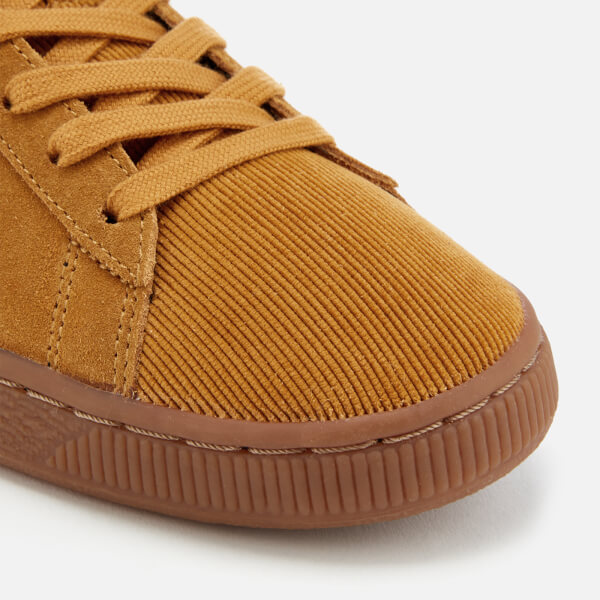 Puma Men s Suede Classic Pincord Trainers - Buckthorn Brown Mens ... 0f4902f13