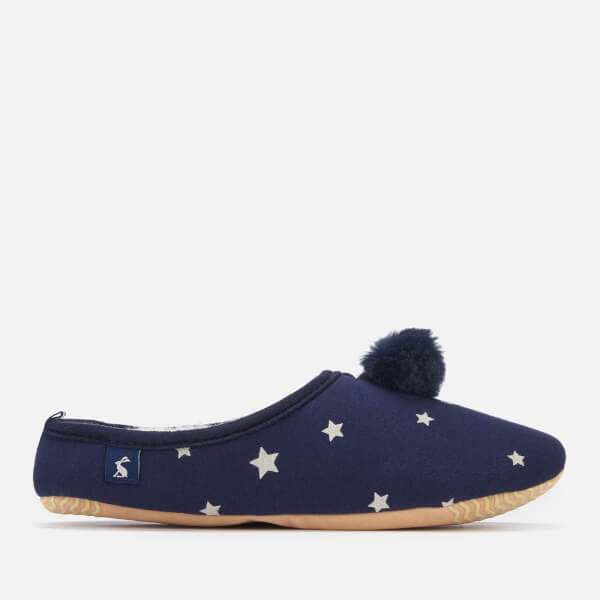 Joules Women's Mitsy Mule Slippers - French Navy Star
