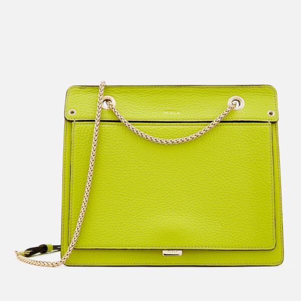 Furla Women's Like Small Chain Cross Body Bag - Green: Image 1