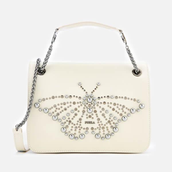 7ce7316f74 Furla Women s Deliziosa Small Shoulder Bag - White  Image 1