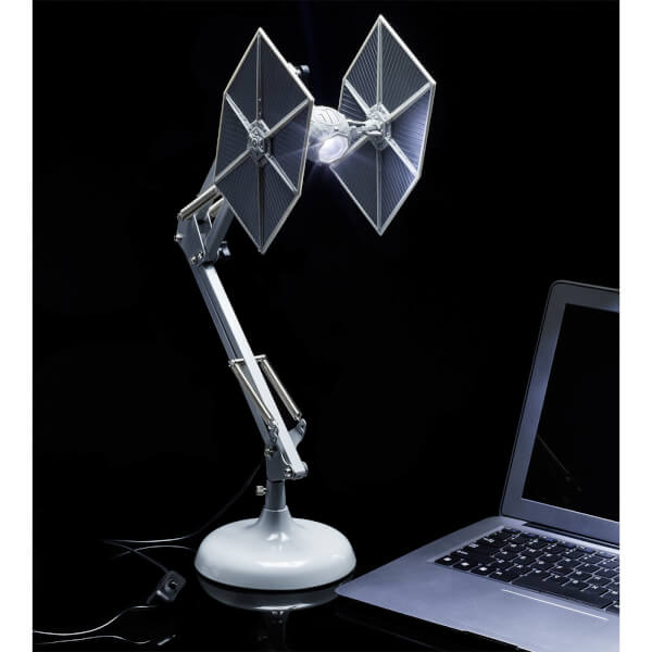 Star Wars Tie Fighter Posable Desk Lamp by Iwoot