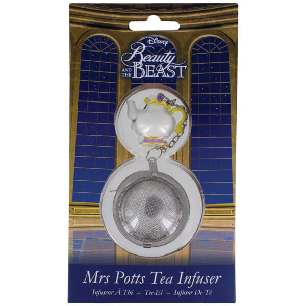 Beauty and the beast mrs potts tea infuser traditional for Oficinas disney madrid