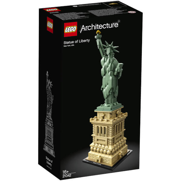 Lego architecture statue of liberty 21042 iwoot lego architecture statue of liberty 21042 negle Images