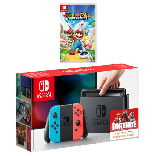 Nintendo Switch Mario + Rabbids Kingdom Battle Pack