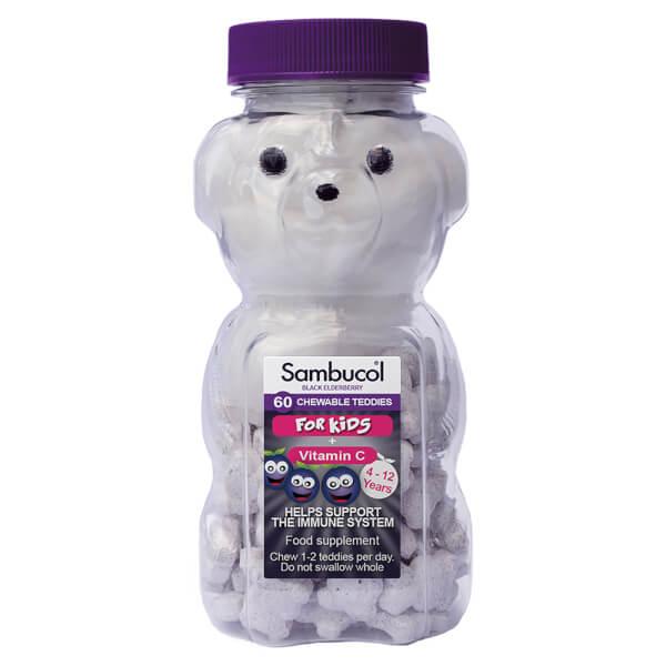 Sambucol Kids' Teddies - 60 Tablets