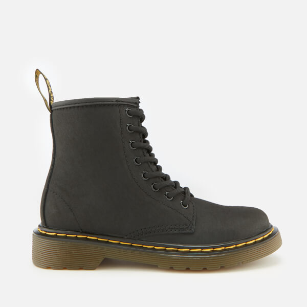 Dr. Martens Kid's 1460 Serena Warm Lining Lace-Up Boots - Black