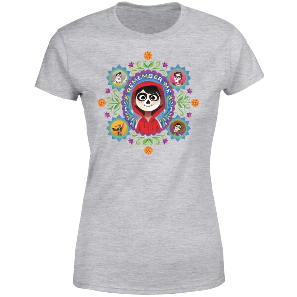 Coco Remember Me Women's T-Shirt - Grey