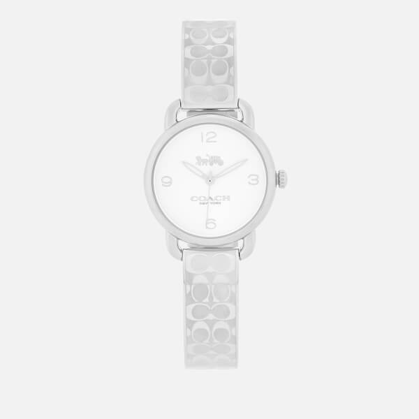 Coach Women's Delancey Bracelet Watch - Silver