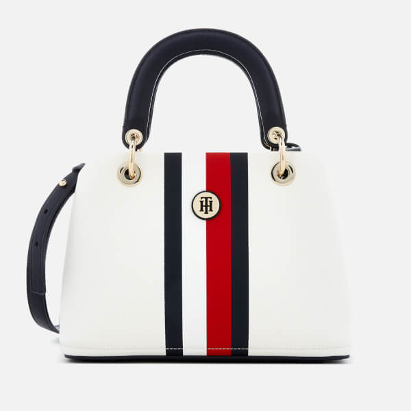 2a821dfaf981b Tommy Hilfiger Women s Core Medium Satchel - White  Image 1