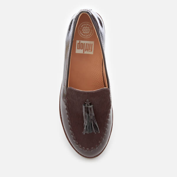 82792526383 FitFlop Women s Paige Moccasin Loafers - Berry  Image 3